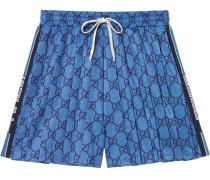 Jersey-Shorts mit GG