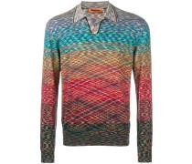 Pullover mit Regenbogenmuster