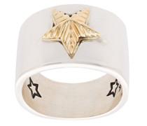 'Star' Silber- und Goldring