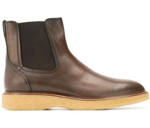 Chelsea-Boots mit runder Kappe