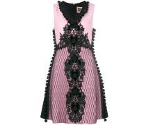 A-Linien-Kleid mit Stickerei