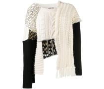 'Tama' Pullover im Patchwork-Design