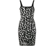 Minikleid mit Animal-Print
