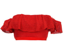 Lucy knitted bandeau top