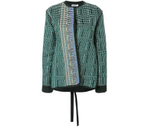 Tweed-Jacke mit Bouclé-Musterung