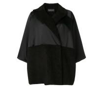 Drapierter Oversized-Mantel