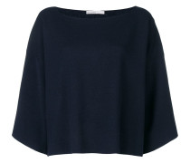 flared knitted sweater