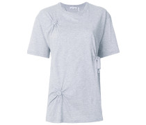 T-Shirt mit Knotendetails