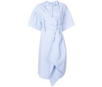 Gestreiftes Kleid mit Taillenband