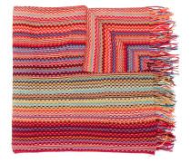 Gewebter Schal mit Fransen