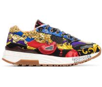'Achilles' Sneakers mit Print