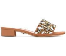 jewelled open toe sandals