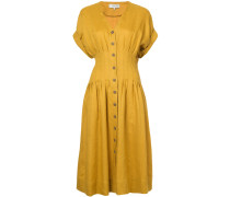 Coralien pleated day dress