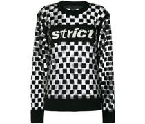 Pullover mit Schachbrettmuster