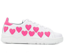 Sneakers mit Herz-Patch