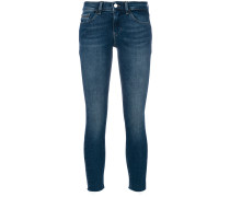 Cropped-Jeans mit engem Schnitt