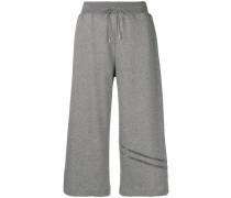 Cropped-Hose mit Stretchbund