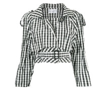 checked short jacket - Unavailable