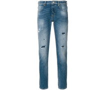 slim handkerchief jeans