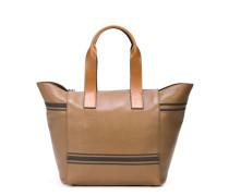 Handtasche mit Streifen