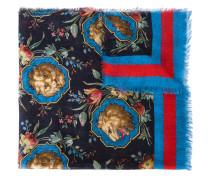 Schal mit Löwen-Print