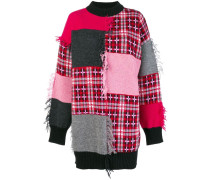 Pullover mit Patchwork-Optik