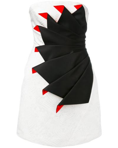 Kleid mit Falt-Optik