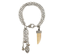 Silberarmband mit Diamanten