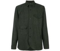 tweed military shirt