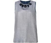 'S Max Mara embellished neck blouse