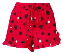 Shorts mit Stern-Print