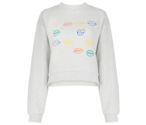 'Kiss Grid And Miss You' Pullover