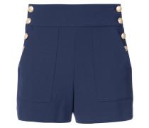 Shorts mit dekorativen Knöpfen