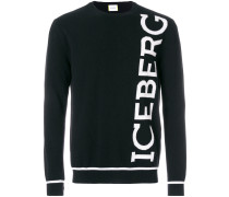 logo knit jumper
