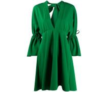 Kleid mit Kordelzug-Details