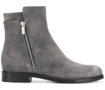 side zipped boots