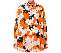 'Jackie Flowers' Oversized-Hemd