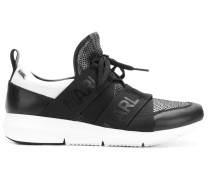 'Runner' Sneakers mit Logo