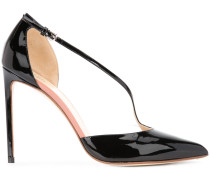 Stiletto-Pumps aus Lackleder