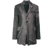 Blazer in Knitteroptik
