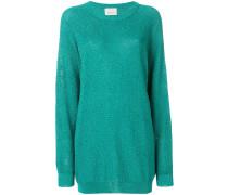 Lang geschnittener Pullover