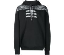 Catch Them Wings print hoodie