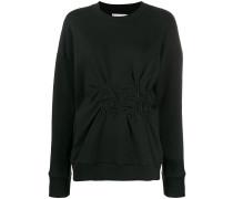 Gerafftes Sweatshirt