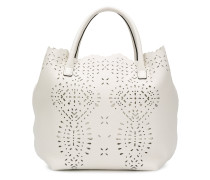 cutwork tote bag