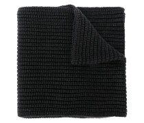 cashmere rib knit scarf
