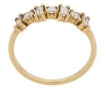 18kt 'Baguette' Gelbgoldarmband