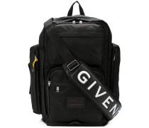 Rucksack mit Taschen
