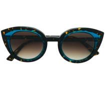 Cat-Eye-Sonnenbrille in Schildpattoptik