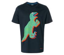 T-Shirt mit Dino-Print