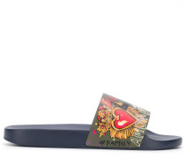 leather graphic slides